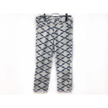 【中古】 イザベルマランエトワール ISABEL MARANT ETOILE パンツ サイズ36 S レディース 白 ブルー
