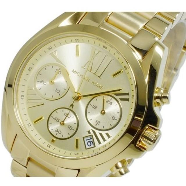 304948f36d マイケルコース MICHAEL KORS クオーツ クロノ レディース 腕時計 MK5798 イエローゴールド