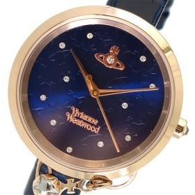 ヴィヴィアンウエストウッド Vivienne Westwood クオーツ レディース 腕時計 VV139NVNV ネイビー ネイビー
