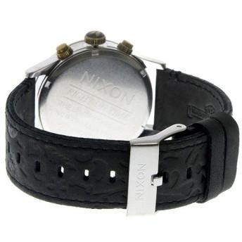 ニクソン NIXON セントリー SENTRY クロノ クオーツ ユニセックス 腕時計 A405-2222 ブラック ブラック
