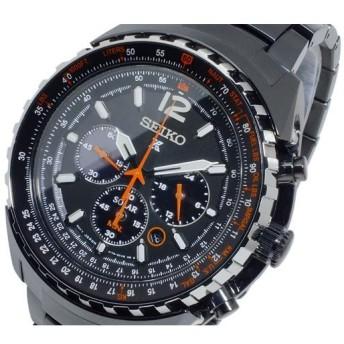 セイコー SEIKO プロスペックス PROSPEX ソーラー クオーツ メンズ クロノ 腕時計 SSC263P1 ブラック