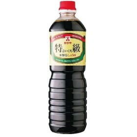 加賀屋醤油 こいくちしょうゆ 1000ml まとめ買い(×15)|4971970111507(tc)