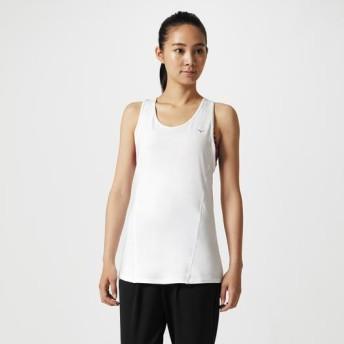 MIZUNO SHOP [ミズノ公式オンラインショップ] スリーブレスTシャツ[レディース] 01 ホワイト 32MA8711