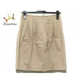 エストネーション ESTNATION スカート サイズ36 S レディース 美品 ブラウン   スペシャル特価 20190710