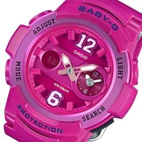 カシオ ベビーG アナデジ クオーツ レディース 腕時計 BGA-210-4B2 ピンク ピンク