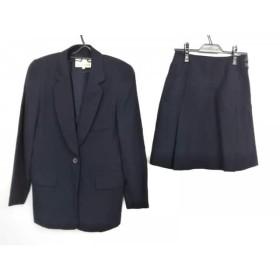 【中古】 トラサルディー TRUSSARDI スカートスーツ サイズ42 M レディース ダークネイビー