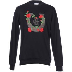 《期間限定セール開催中!》GALLE Paris メンズ スウェットシャツ ブラック L 100% コットン