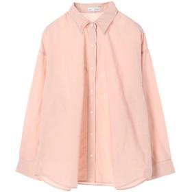 【オンワード】 SEVENDAYS=SUNDAY(セブンデイズ サンデイ) ・ワイヤー入り2WAYシャツ Pink Beige L レディース 【送料無料】