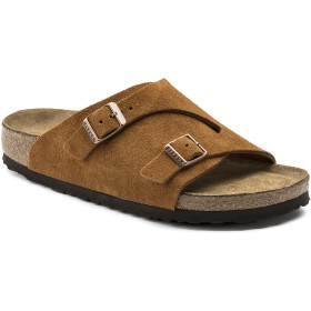BIRKENSTOCK ビルケンシュトック サンダル Zürich Suede Leather Soft Footbed