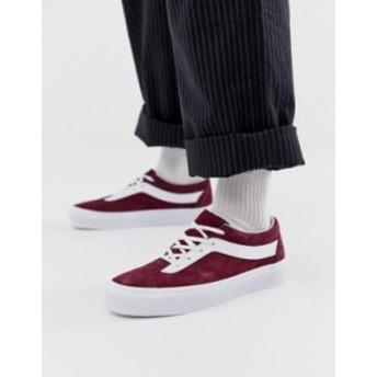 バンズ メンズ スニーカー シューズ Vans Bold sneakers in red Red