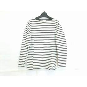 【中古】 オーシバル ORCIVAL 長袖Tシャツ サイズ2 M レディース 白 ダークグレー ボーダー