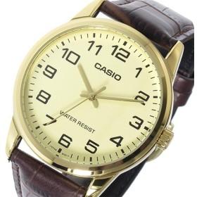 カシオ CASIO ベーシック クオーツ メンズ 腕時計 MTP-V001GL-9B アイボリー アイボリー