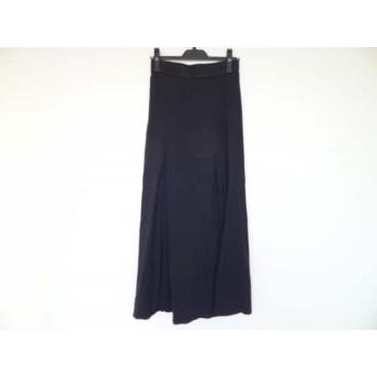 【中古】 ジェームスパース JAMES PERSE ロングスカート サイズ0 XS レディース 黒