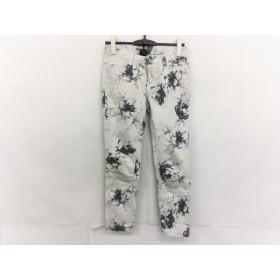 【中古】 ダブルスタンダードクロージング DOUBLE STANDARD CLOTHING パンツ サイズ36 S レディース 花柄