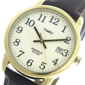 タイメックス TIMEX イージーリーダー EASY READER クオーツ ユニセックス 腕時計 T2N369 アイボリー/ブラウン アイボリー