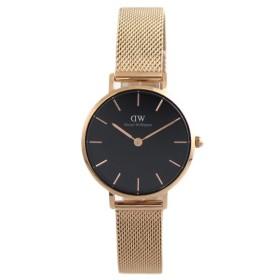 ダニエルウェリントン DANIEL WELLINGTON 腕時計 レディース DW00100217 クォーツ ピンクゴールド ブラック