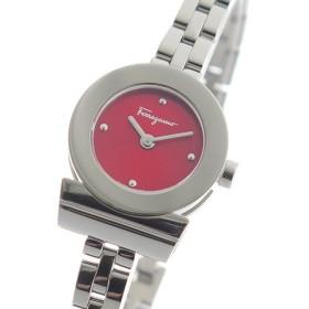 サルヴァトーレ フェラガモ クオーツ レディース 腕時計 FBF060017 レッド レッド