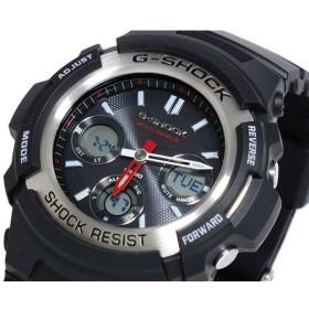 カシオ CASIO Gショック G-SHOCK 電波 ソーラー マルチバンド5 腕時計 AWG-M100-1A ブラック