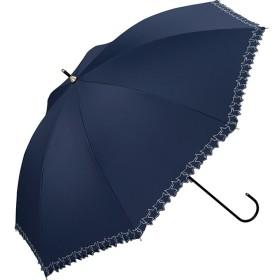 [マルイ]【セール】日傘 晴雨兼用 長傘 遮光フレームスタースカラップ刺繍(レディース/雨の日も使える)/w.p.c(WPC)