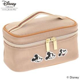 25dd135f598f ポーチ 小物入れ おしゃれ ディズニー ミッキーマウス メニーフェイシズ バニティポーチ カラー 「ベージュ」