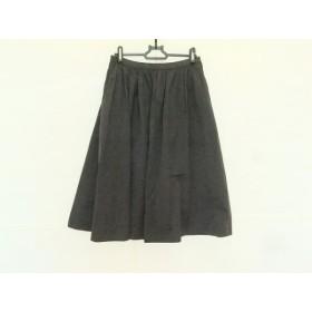 【中古】 ドゥーズィエム DEUXIEME CLASSE スカート サイズ36 S レディース 黒