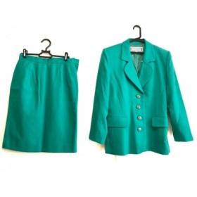 【中古】 イヴサンローラン YvesSaintLaurent スカートスーツ レディース グリーン