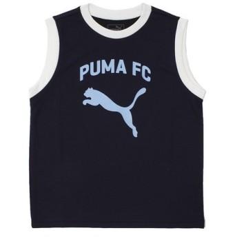 プーマ(PUMA) SL ノースリーブ 753163 02 NVY (Jr)