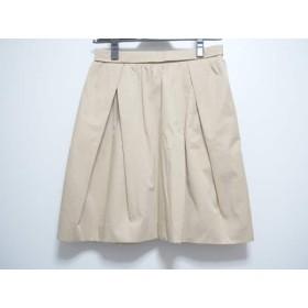 【中古】 カルヴェン CARVEN スカート サイズ36 S レディース ベージュ