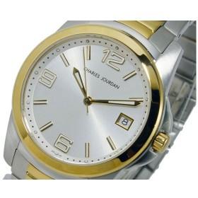 シャルル ジョルダン CHARLES JOURDAN クオーツ メンズ 腕時計 135.13.1 シルバー