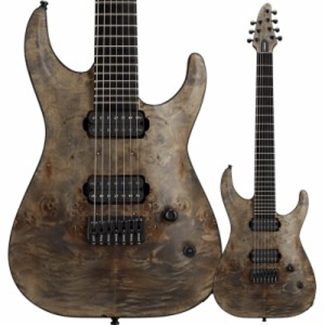 EDWARDS Original Series E-HR7-FX/BM Ash Black 7弦エレキギター【エドワーズ】