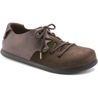 【BIRKENSTOCK】Montana/モンタナ Oiled Leather/Suede Leather エボニー オイルドレザー/スウェード レザー ビルケンシュトック
