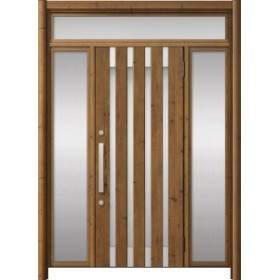 玄関ドア リシェント3 アルミ ランマ付  M11N型 両袖ドア W:1,030~1,895mm × H:1,973~2,300mm LIXIL リクシル TOSTEM
