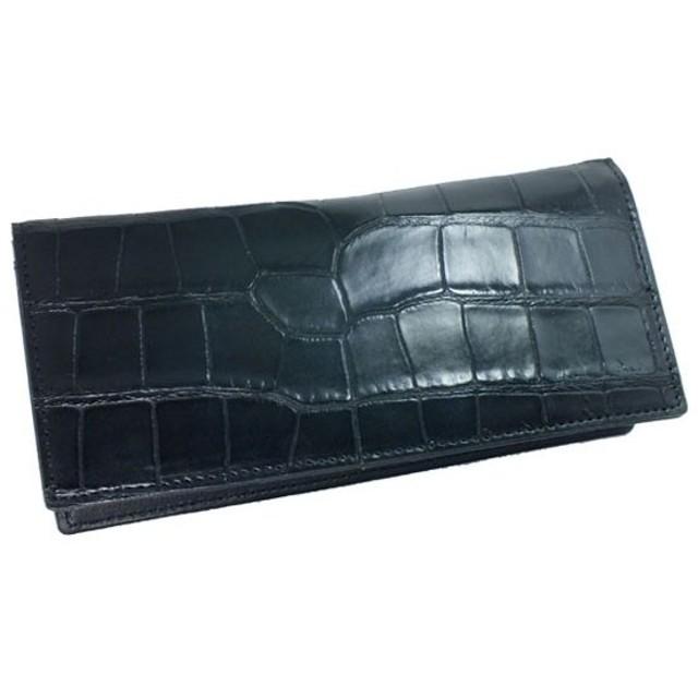 142aae57359c ロダニア RODANIA 日本製 クロコ 長財布 RD4161BK ブラック 通販 LINE ...