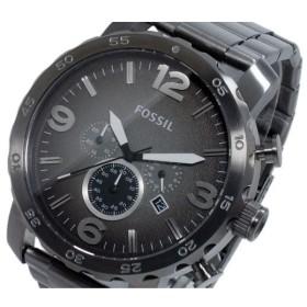 フォッシル FOSSIL ネイト NATE クオーツ クロノ メンズ 腕時計 JR1437 グレー