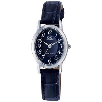 シチズン CITIZEN キューアンドキュー Q&Q レディース 腕時計 VZ89-305 ブルー ネイビー