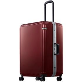 【オンワード】 ACE BAGS & LUGGAGE(エースバッグズアンドラゲージ) ace. パリセイドF 96リットル 1週間以上の長期旅行に♪ 大容量フレーム レッド F レディース 【送料無料】