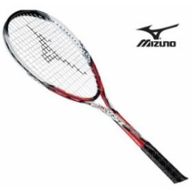 『フレームのみ』ソフトテニスラケット ジスト Z1(62レッド×ホワイト)【MIZUNO】ミズノソフトテニス ラケット ジスト(63JTN51162)