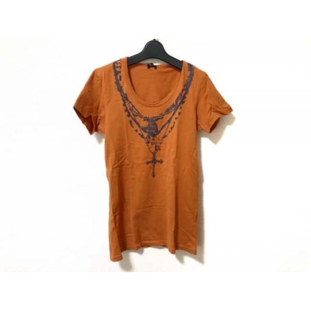 【中古】 トルネードマート TORNADO MART 半袖Tシャツ メンズ オレンジ ダークグレー