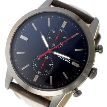 フォッシル FOSSIL クロノ クオーツ メンズ 腕時計 FS5378 ネイビー ネイビー