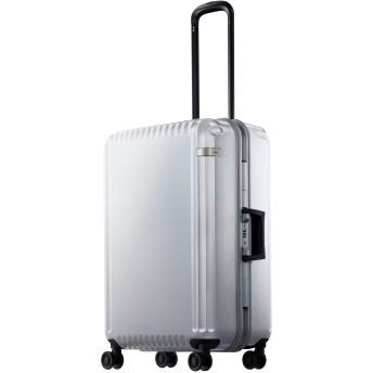 【オンワード】 ACE BAGS & LUGGAGE(エースバッグズアンドラゲージ) ace. パリセイドF 61L スーツケース 4~5日間のご旅行に フレーム 05 ホワイト F レディース 【送料無料】