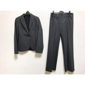 【中古】 セオリー theory レディースパンツスーツ レディース ダークグレー