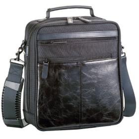 ハミルトン HAMILTON 合皮コンビ ショルダーバッグ メンズ 33670 ブラック ブラック