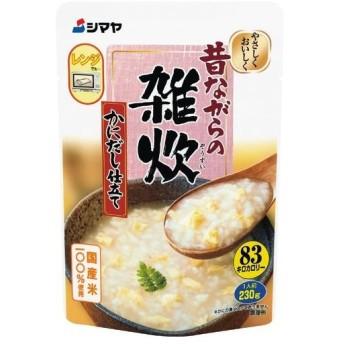 シマヤ 雑炊かにだし 230g まとめ買い(×10) 4901740710692(dc)