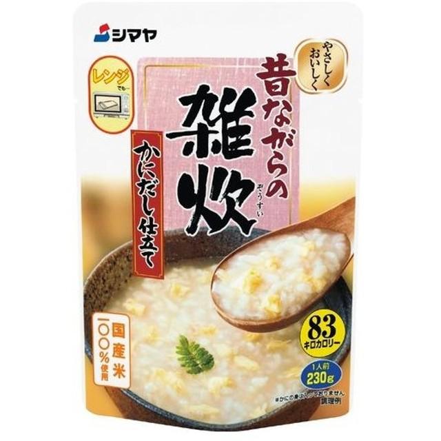 シマヤ 雑炊かにだし 230g まとめ買い(×10)|4901740710692(dc)