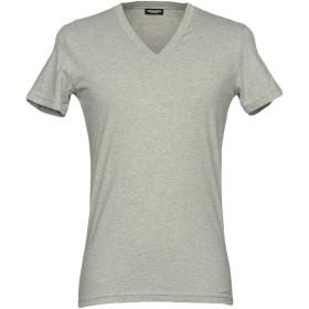 《セール開催中》DSQUARED2 メンズ アンダーTシャツ ライトグレー XS コットン 100%
