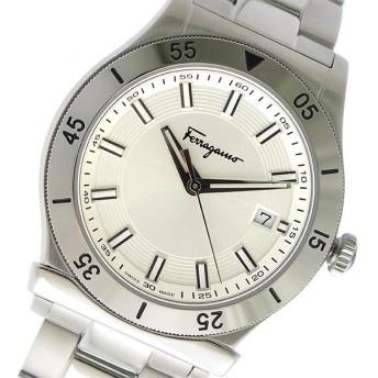 サルヴァトーレ フェラガモ クオーツ メンズ 腕時計 FH1020017 シルバー シルバー
