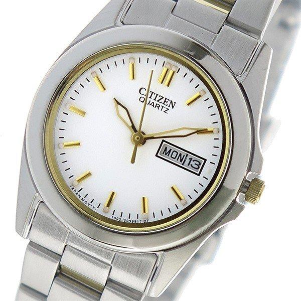 クオーツ CITIZEN シチズン レディース ホワイト 腕時計 EQ0594-58A