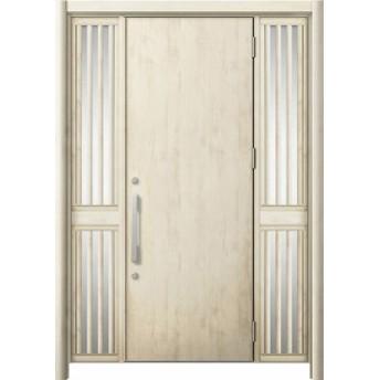玄関ドア リシェント3 断熱 K4 M17型 両袖飾り中桟付ポスト無 W:1,030~1,695mm × H:1,739~2,039mm リクシル