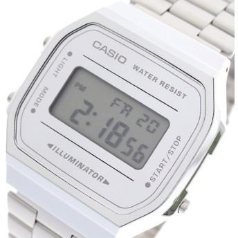 カシオ CASIO 腕時計 メンズ レディース A168WEM-7 クォーツ シルバー シルバー