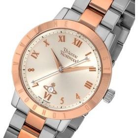 ヴィヴィアン ウエストウッド クオーツ レディース 腕時計 VV152RSSL アイボリー アイボリー